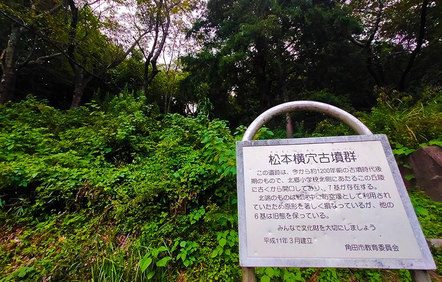 阿武隈急行線で横倉駅から横倉古墳群を見学する事がおススメです。古代文化の香りを感じることができます。
